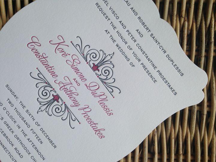 Tmx 1482771706808 Img6859 Orange, Connecticut wedding invitation