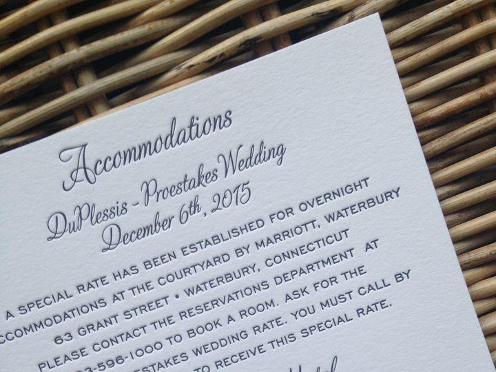 Tmx 1482772414287 Img6861 Orange, Connecticut wedding invitation
