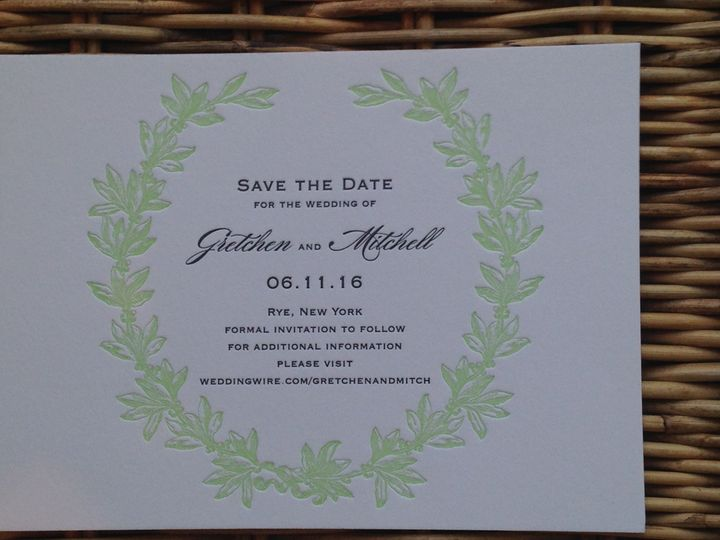 Tmx 1482772574456 Img6883 Orange, Connecticut wedding invitation