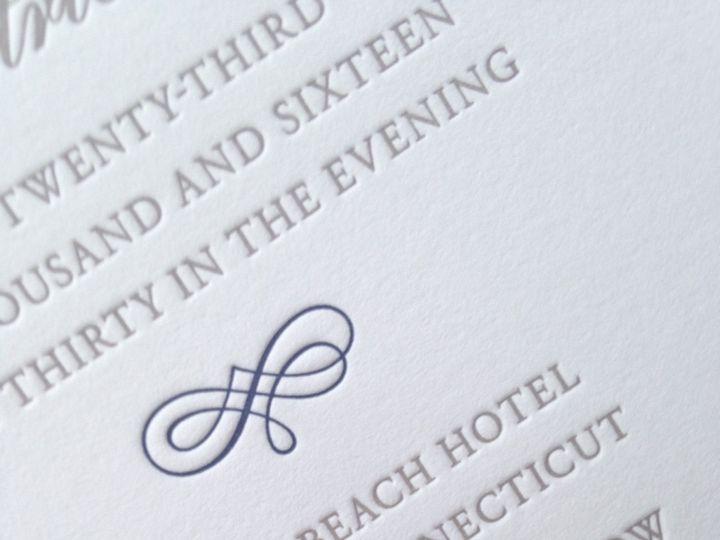 Tmx 1482772632264 Img6902 Orange, Connecticut wedding invitation