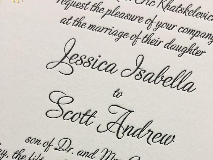 Tmx 1483392460001 Img0482 Orange, Connecticut wedding invitation