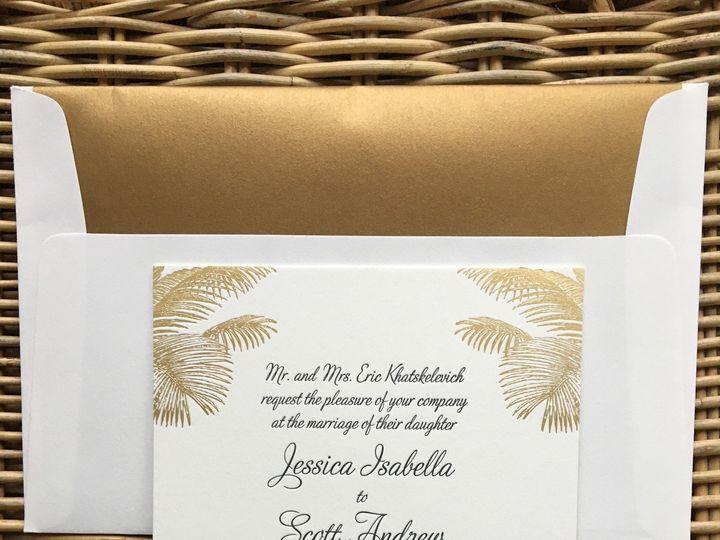 Tmx 1483392462846 Img0483 Orange, Connecticut wedding invitation