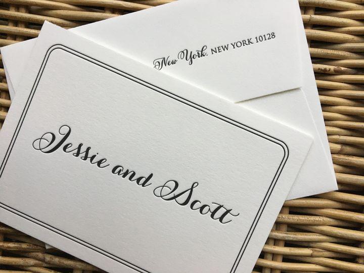 Tmx 1483392574885 Img0489 Orange, Connecticut wedding invitation