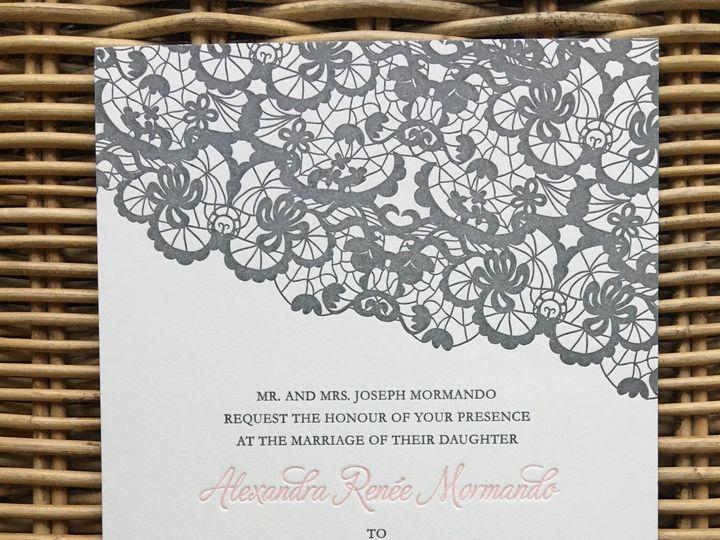 Tmx 1483392686725 Img0491 Orange, Connecticut wedding invitation