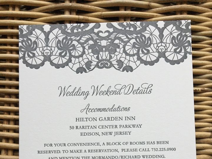 Tmx 1483392750485 Img0494 Orange, Connecticut wedding invitation