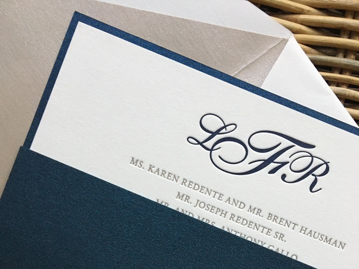 Tmx 1483392777658 Img0495 Orange, Connecticut wedding invitation