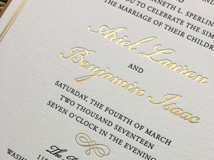 Tmx 1483392830888 Img0499 Orange, Connecticut wedding invitation