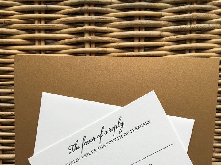 Tmx 1483392887893 Img0500 Orange, Connecticut wedding invitation