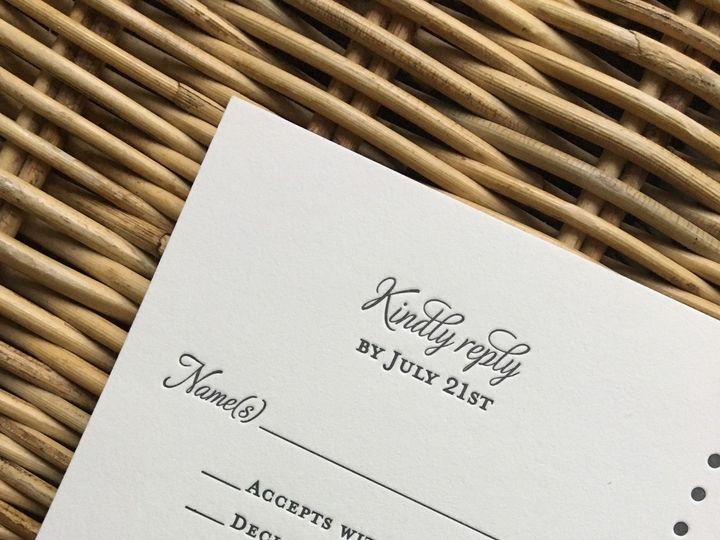 Tmx 1483392985992 Img0507 Orange, Connecticut wedding invitation