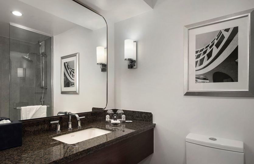 Standard bathroom after reno