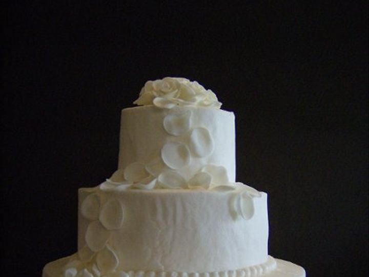 Tmx 1279332672822 Petalscake Fostoria wedding cake