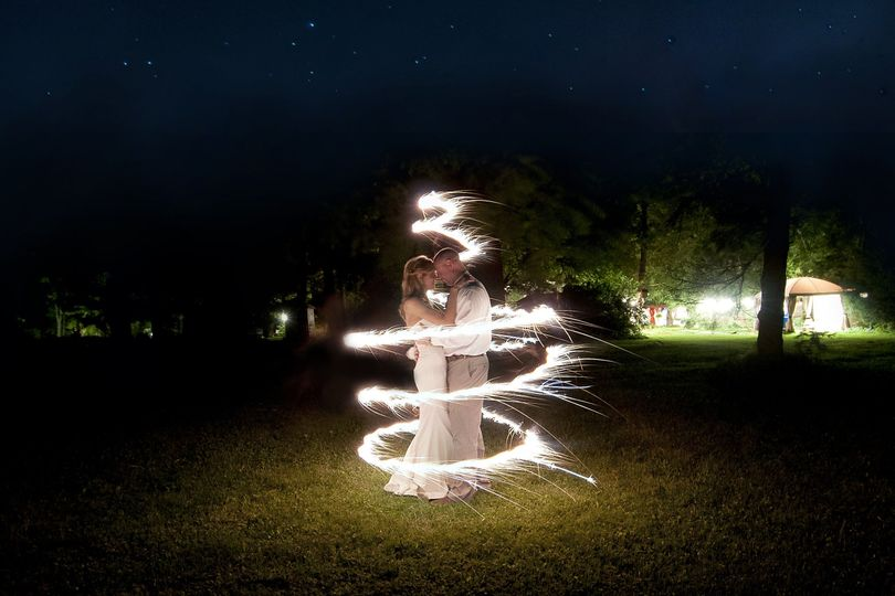 Night image captured with sparklers. I love capturing night photographs.