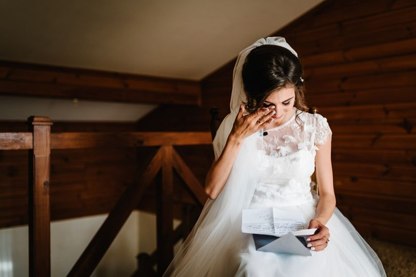 Pre-Ceremony love letters...