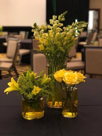 Beautiful yellow florals
