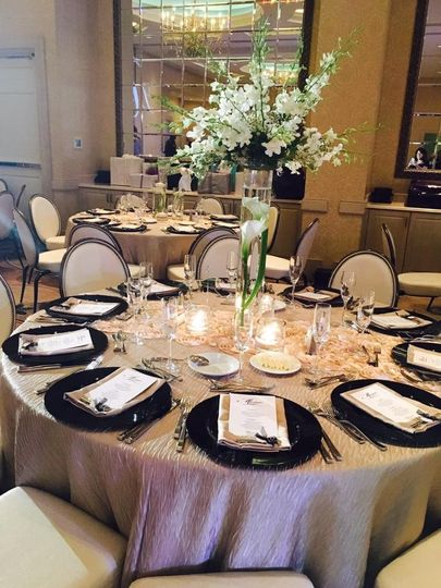 Sophisticated wedding centerpieces