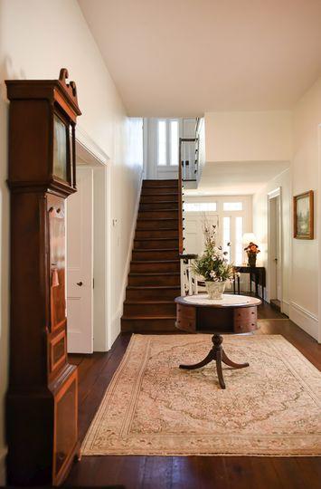 Staircase cross hall