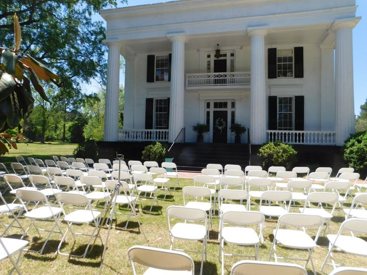 Chantilly Plantation wedding ceremony