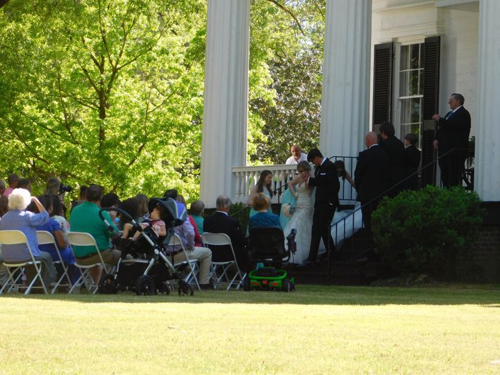 Chantilly Plantation ceremony