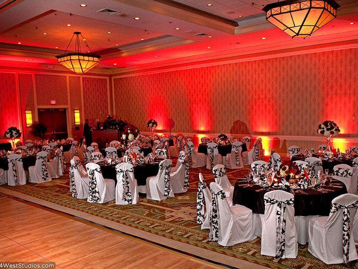 Tmx 1442345368094 Up Lighting Red Wedding Hampton wedding eventproduction
