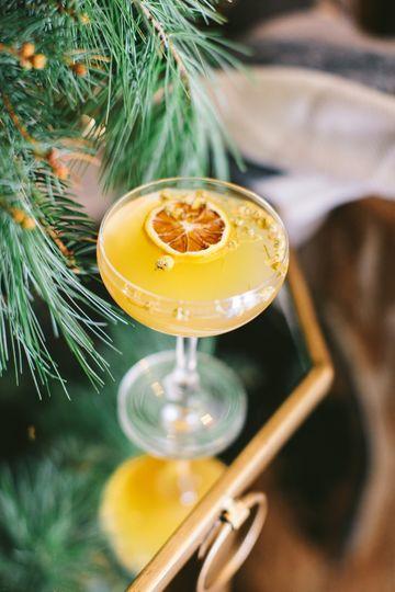 Juniper & Chamomile cocktail
