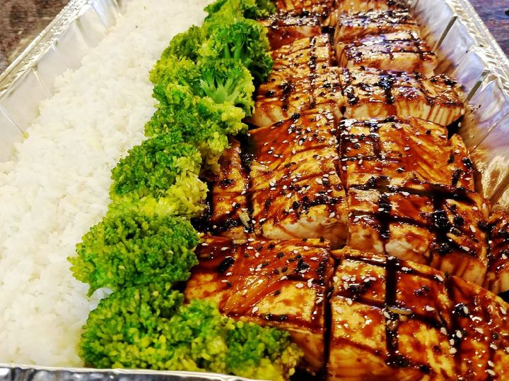 Tmx 1526211707 78446cc977854d40 1526211706 6b3680e1eb59bb8a 1526211702600 8 Teriyaki Salmon Ri Horsham wedding catering