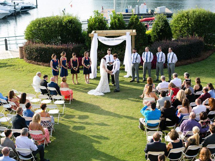 Tmx 1416241305184 Lindsay Brenden Peninsula Yacht Club Wedding 1268 Cornelius, NC wedding venue