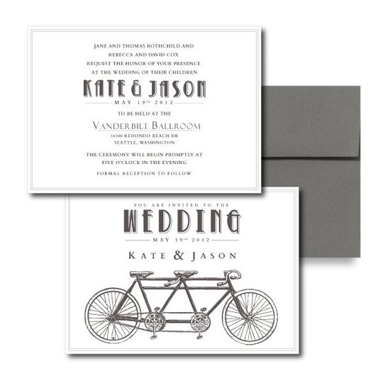 Love is a 2 Seater Invitation Fun Wedding Invitations, Modern Wedding Invitations, Vintage Wedding...