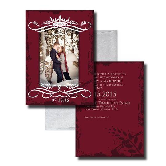 A Fairy Tale Beginning InvitationElegant Wedding Invitationswww.thesweetheartshoutout.com