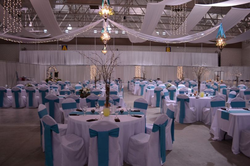 Before the guests arrive