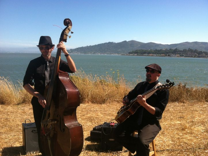 Ceremony music, bay side in Sausalito