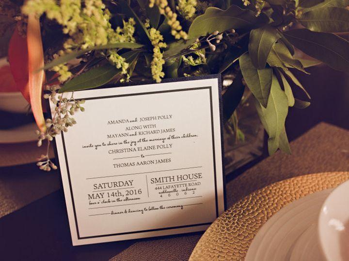 Tmx 1475604900624 Af2a8977 Noblesville wedding invitation