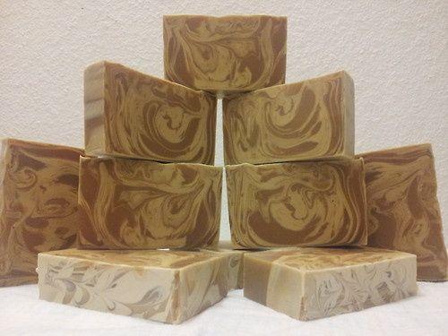 Coffee and Cream (Espresso and Vanilla) Cold Process Soap