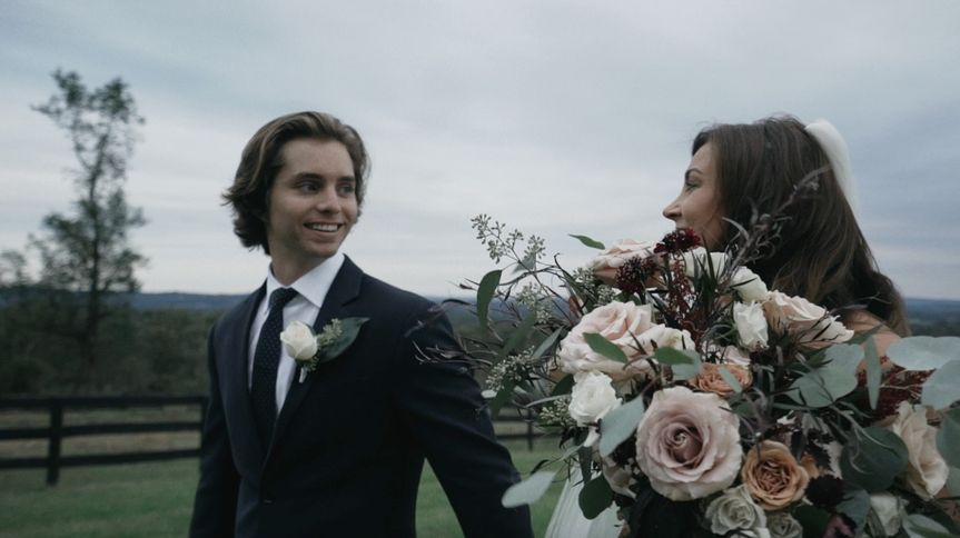 After first look - Ethan Hoover Wedding Films