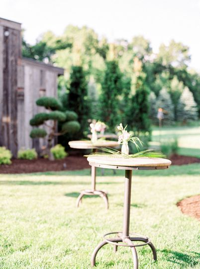 Custom carpentry services are available to build the wedding of your dreams.