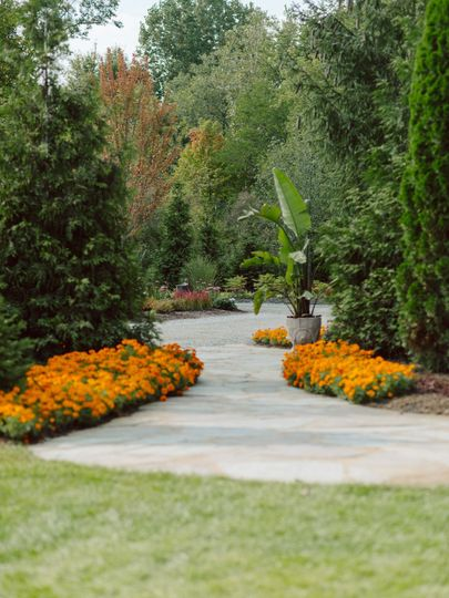 Landscaped for the seasons year-round