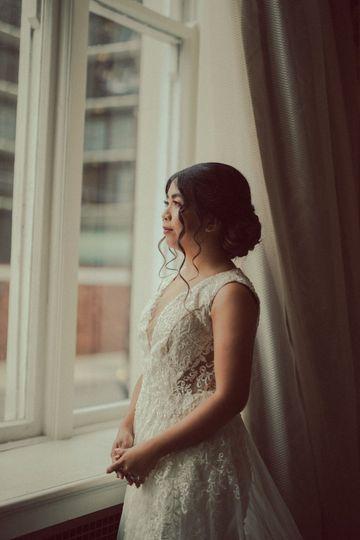 Bride Window Look