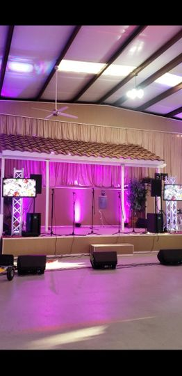 Sound & Lighting for event!