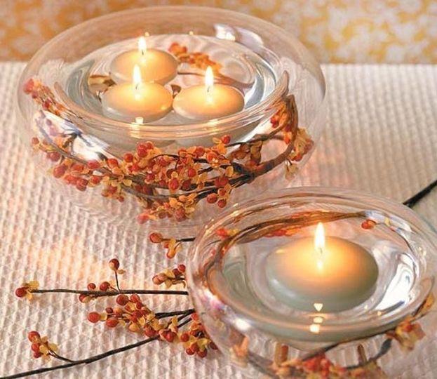 Candle centrpiece