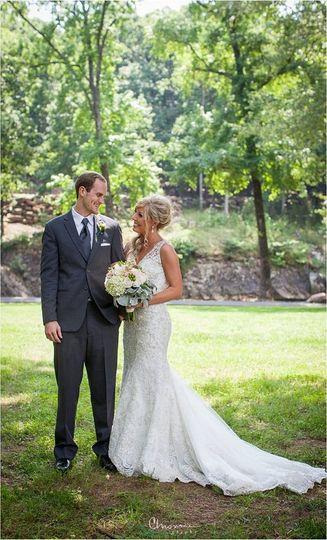 outdoor wedding at Deer Mountain Events, Ozaark AR