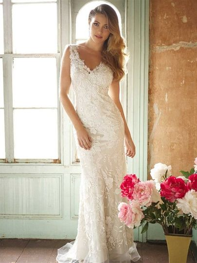 Allure Bridals style 8800. Available at Encore Bridal in Fort Collins, CO.