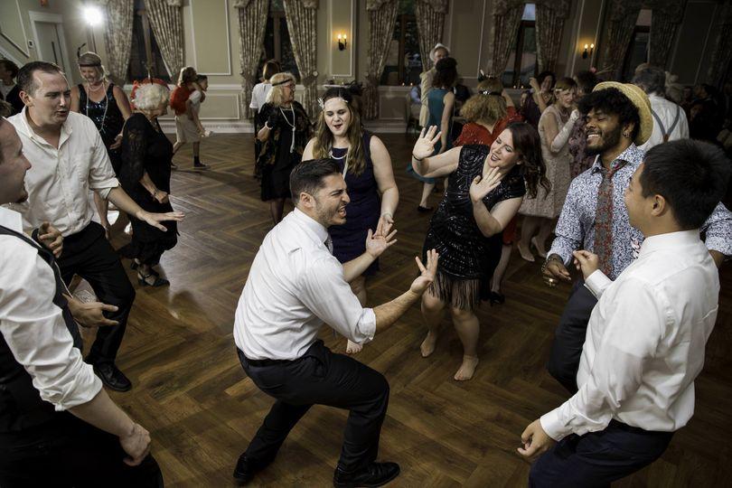 Dance-floor celebrations