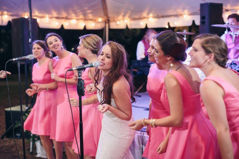 We always involve bridesmaids
