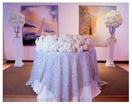 Tmx 1490378594170 Cake Tablelarge White Flowers Dallas, Texas wedding venue