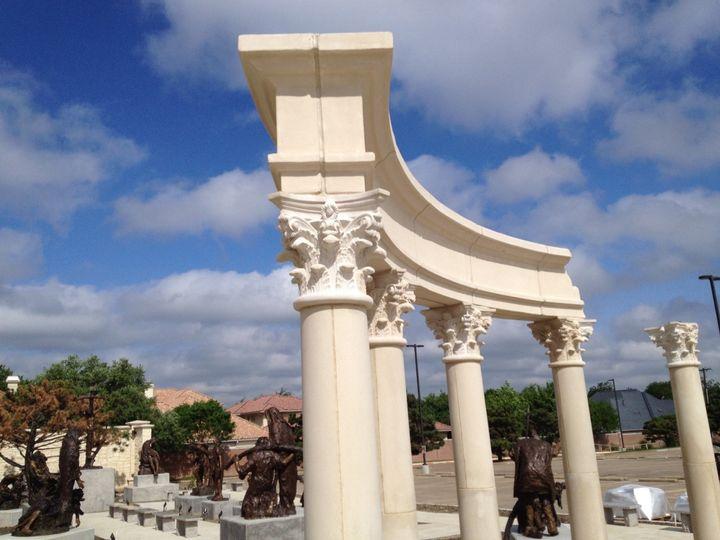 Tmx 1490378825026 Columns And Blue Sky Dallas, Texas wedding venue