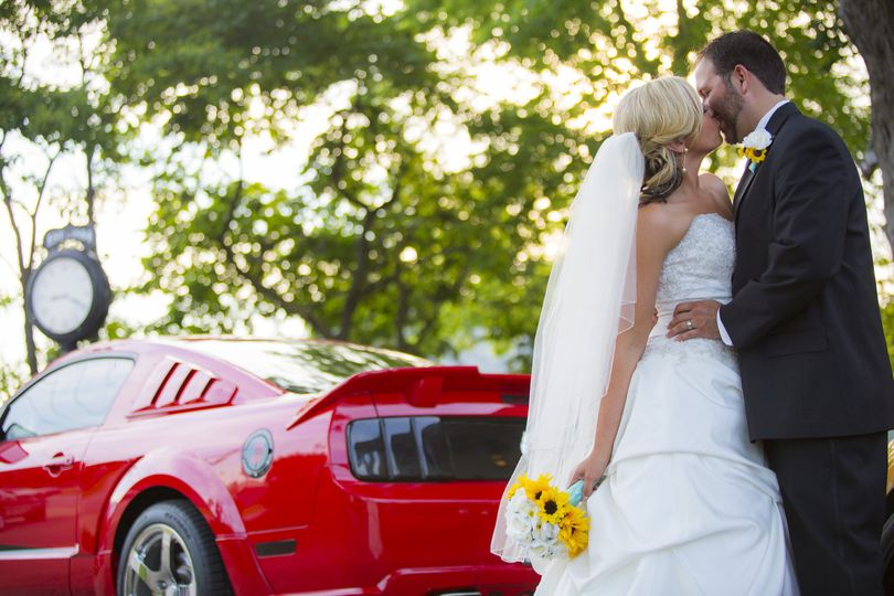 Marriage and a red car