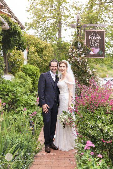 Intimate Wedding at Robin's