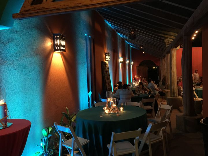 LED Bars at Casa Mariposa SPI