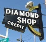 Historic landmark sign in downtown Ada, Oklahoma.