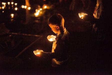 Nightime hope lights