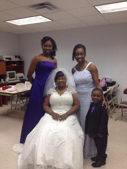 Bride & bridemaid makeup